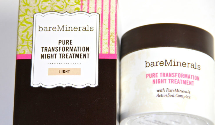 Bare Essentials Pure Transformation Night Treatment