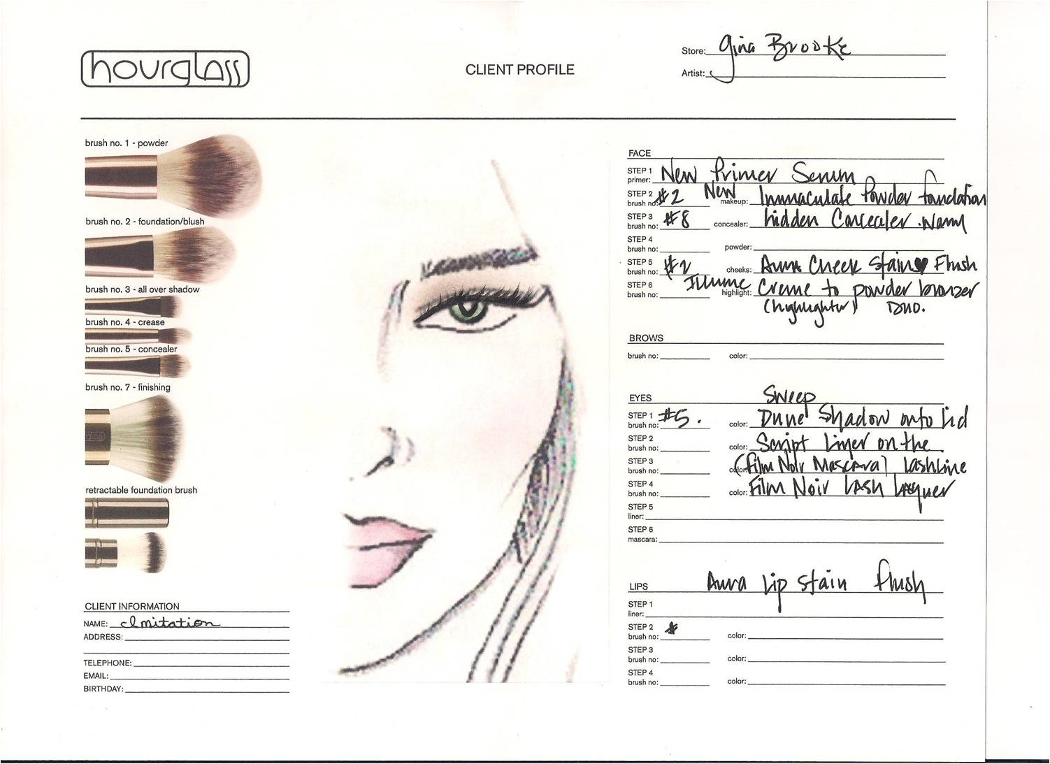 Backstage at new york fashion week spring 2012 with hourglass the face chart click to enlarge nvjuhfo Choice Image