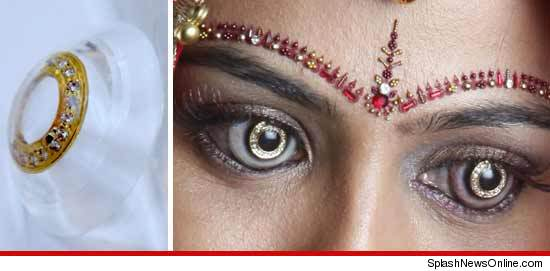 You Don't Need These: Diamond Encrusted Contact Lenses