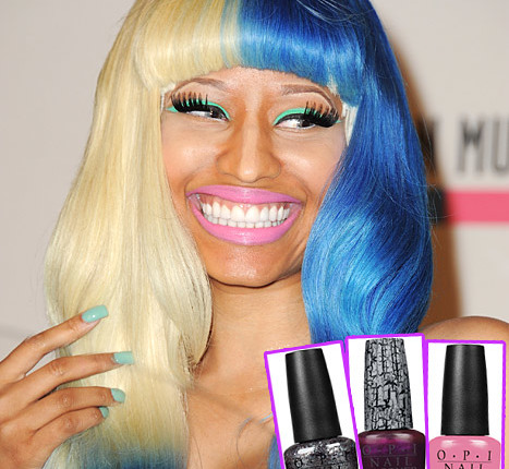 Nicki Minaj, OPI, and Contouring