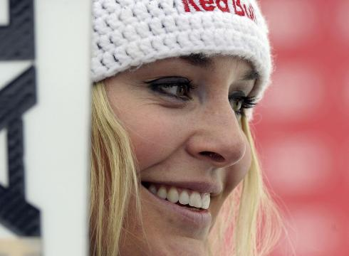 Lindsey Vonn: Even Sporty Girls Wear Makeup
