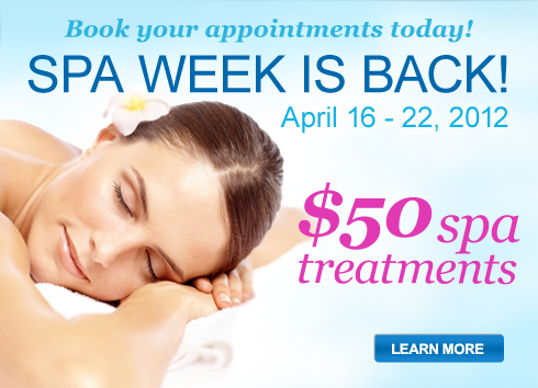 Spa Week is Here!
