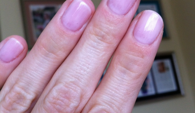 My Shellac Manicure: Day 1