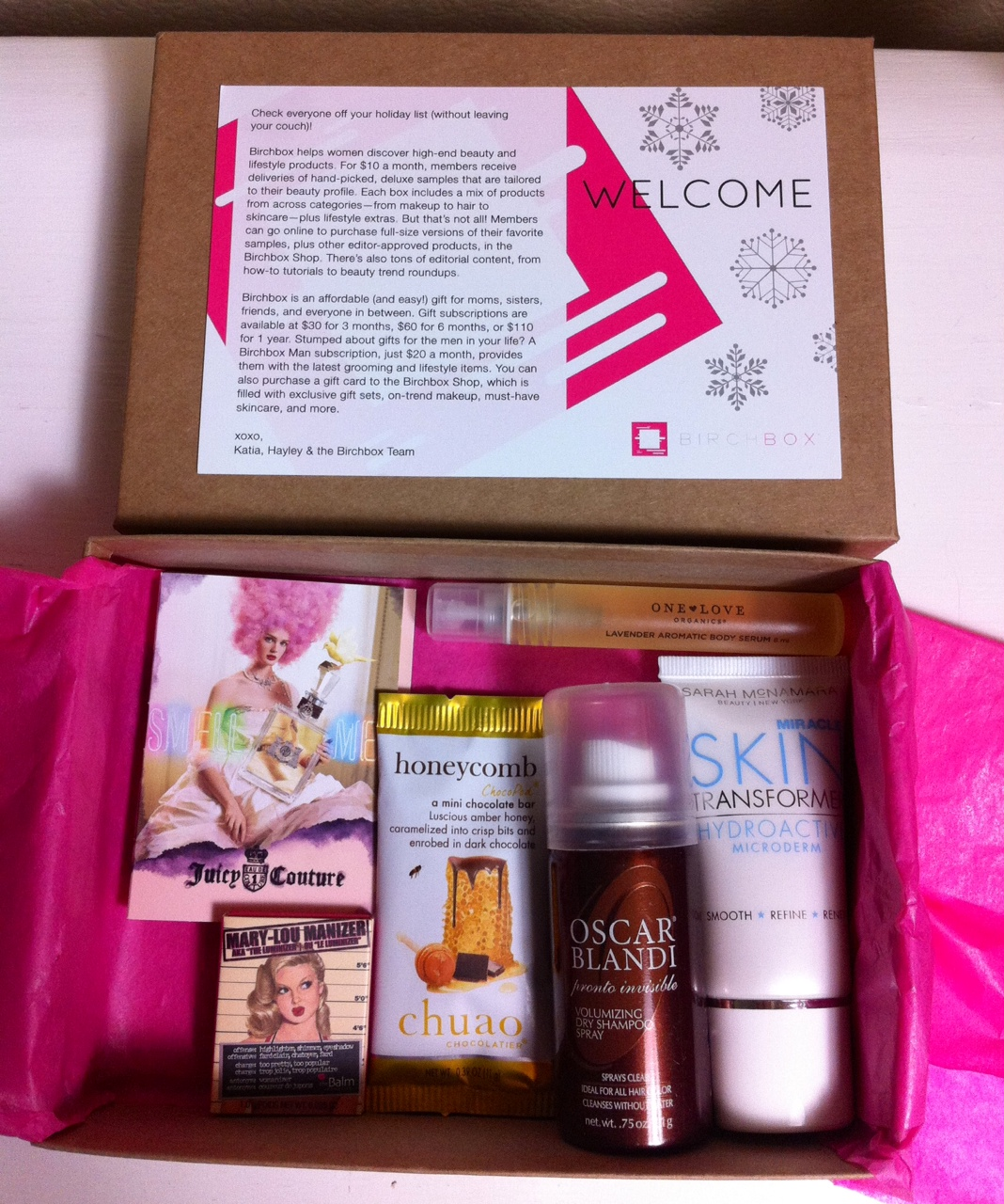 Birchbox for the Holidays