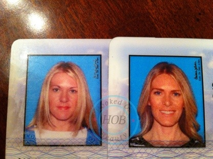My Old Driver's License Photo and the Importance of Even Brows