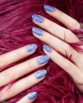 Feather Mani via DailyMail.co.uk