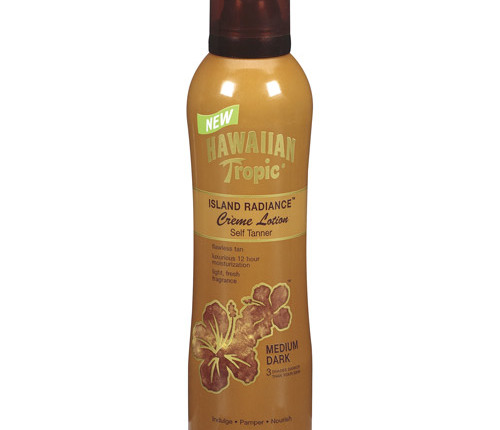 Hawaiian Tropic Island Radiance Creme Lotion Self Tanner