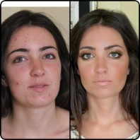 Makeup Before and After: How to Use Yellow Primer