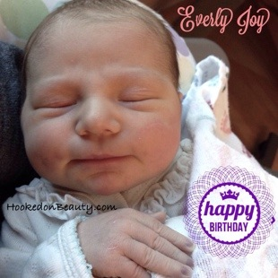 Happy Birthday Everly!