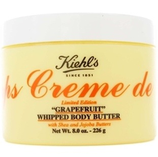 Kiehl's Creme de Corps Limited Edition Grapefruit Whipped Body Butter