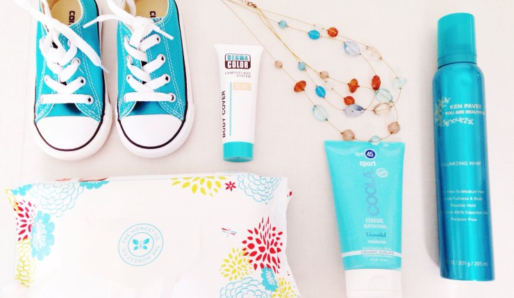 Spring Essentials: Coola Sunscreen, Waterproof Body Makeup, & Ken Paves Weather-Proof Haircare