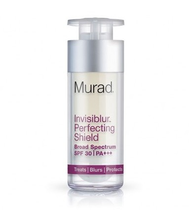 Moisturize, Prime, Blur, and Protect with Murad's Invisiblur Perfecting Shield