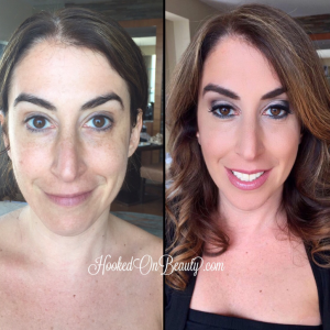 Makeup Before and After: How to Wear Bright Shadows