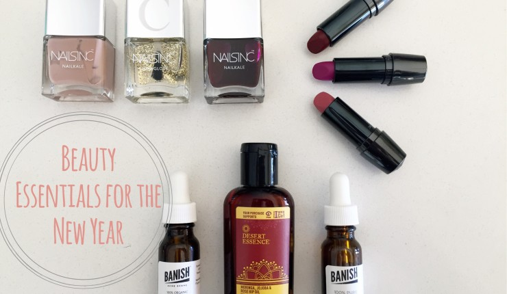 Update Your Look Insantly With These New Year's Beauty Essentials