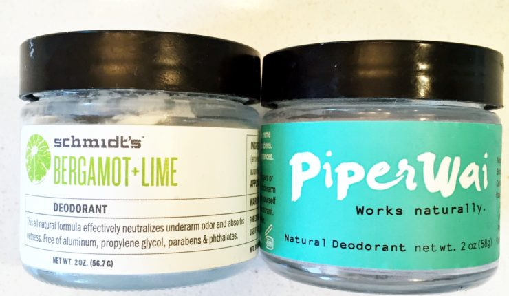 Natural Deodorant Showdown: Schmidt's vs PiperWei