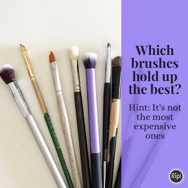 Which Makeup Brushes Hold Up the Best?