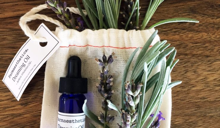 I Grew A Bunch of Lavender and Have No Idea What to Do With It & Farmaesthetics Dreaming Oil