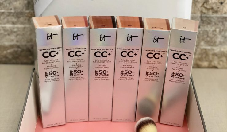 Why IT Cosmetics CC Cream is Cult Fave AND a GIVEAWAY!